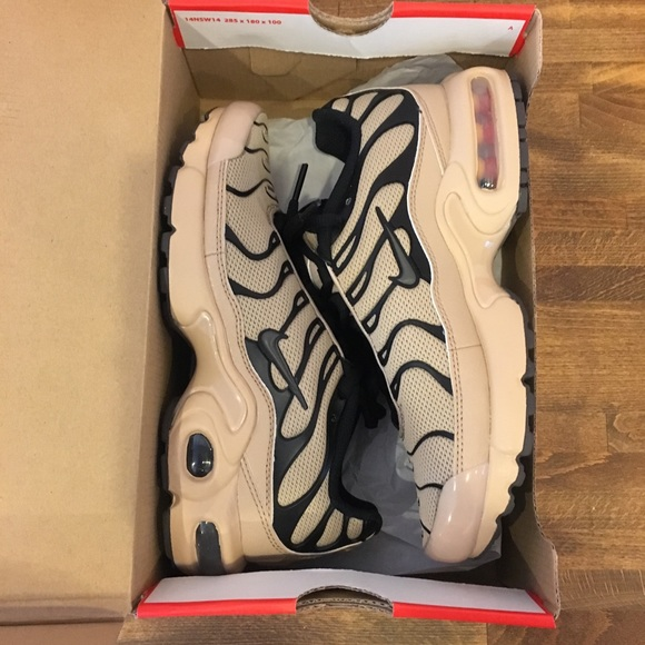 size 40 4b3c8 d7429 Air Max Plus Gs Desert / Ridgerock Black